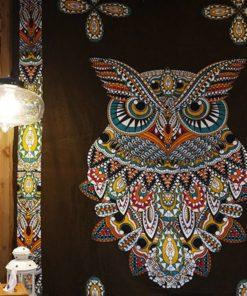 Sacred Owl Tapestry - Bohème & Beyond 2018